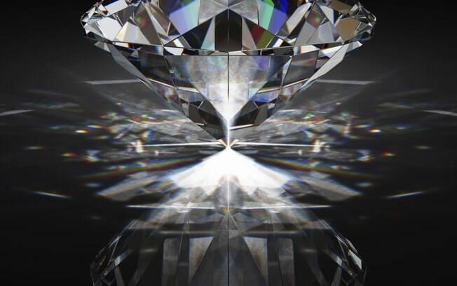 Diamante: pedra não perde valor, desde que certificada . Foto: Thinkstock