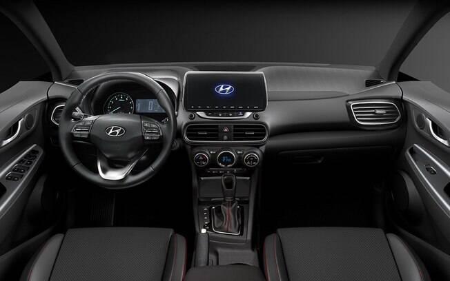 Interior terá central multimídia com tela sensível ao toque, de 8 polegadas, velocímetro digital, entre outros itens