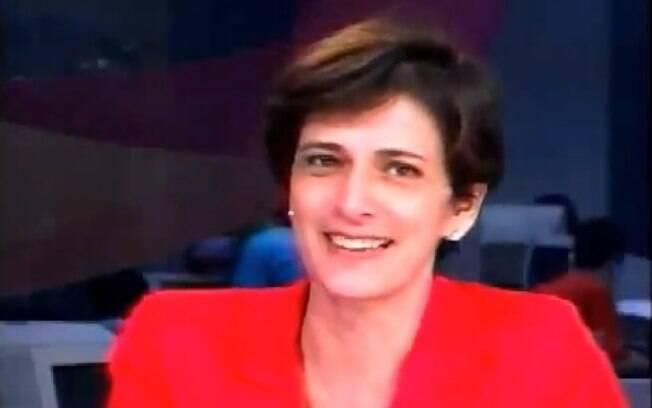 Outra jornalista não se conteve no ar: Lilian Whitte Fibe caiu na gargalhada enquanto apresentava um jornal online...