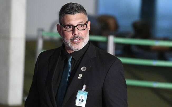 Alexandre Frota, eleito deputado federal pelo PSL em São Paulo, atacou o escritor Olavo de Carvalho