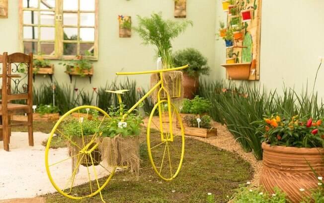 decorar jardim jogos:Reunimos na galeria de fotos 100 maneiras de trazer as flores para a