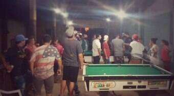 Polícia encerra torneio de sinuca com mais de 200 pessoas no RS