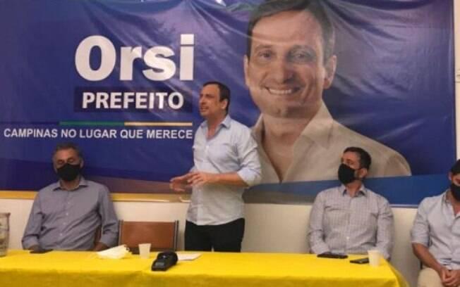 Artur Orsi é o candidato do PSD à Prefeiutra de Campinas.
