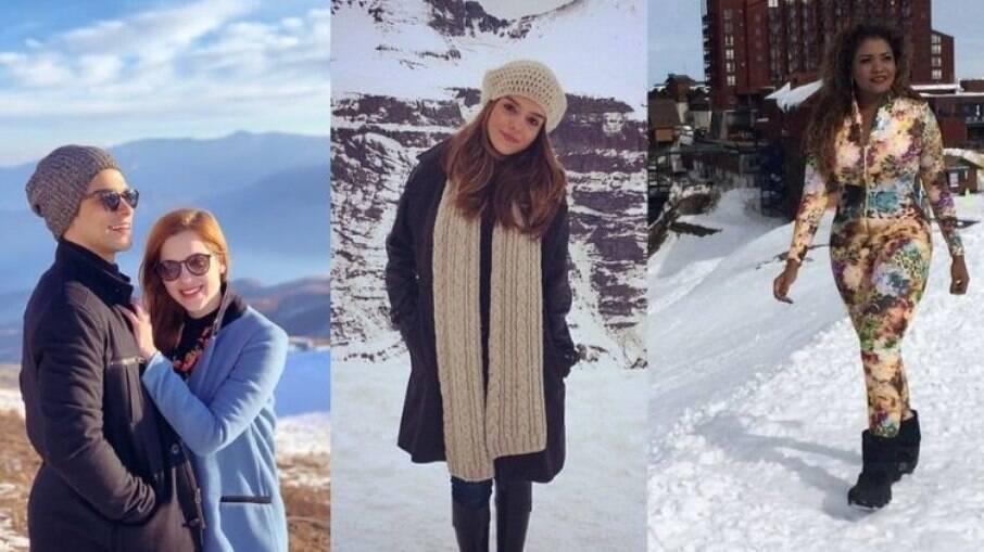 Sophia Abrahão, Giovanna Lanceloti e Gaby Amarantos já visitaram o país