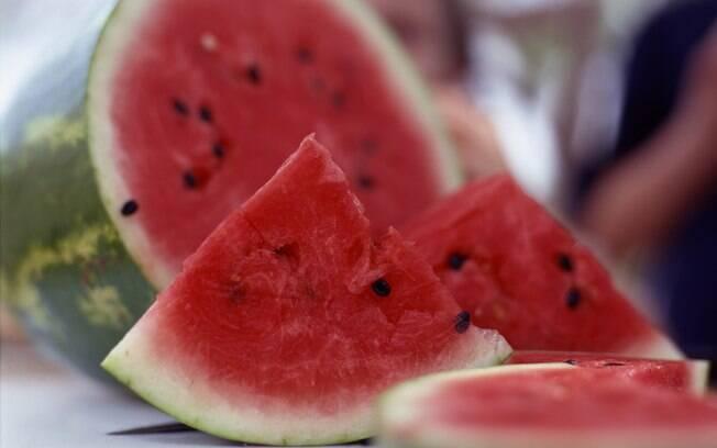 A melancia tem licopeno, um antioxidante que pode reduzir o risco de câncer. Foto: Getty Images