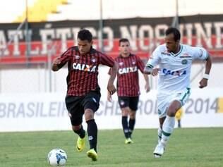 Tropeço do Furacão o deixou na 13ª colocação do Nacional, com cinco pontos
