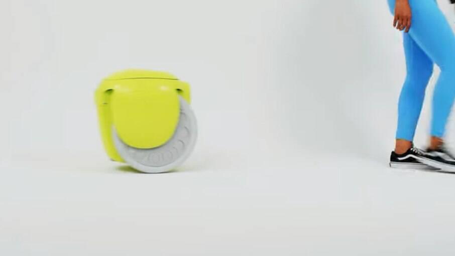Gitamini é um robô que segue seu dono