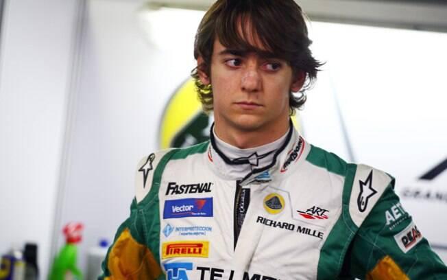 Sauber - Esteban Gutiérrez - mexicano era  piloto de teste e reserva e assinou como titular  nesta temporada