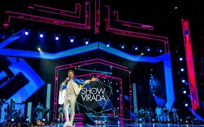 Wesley Safadão se apresenta no Show da Virada