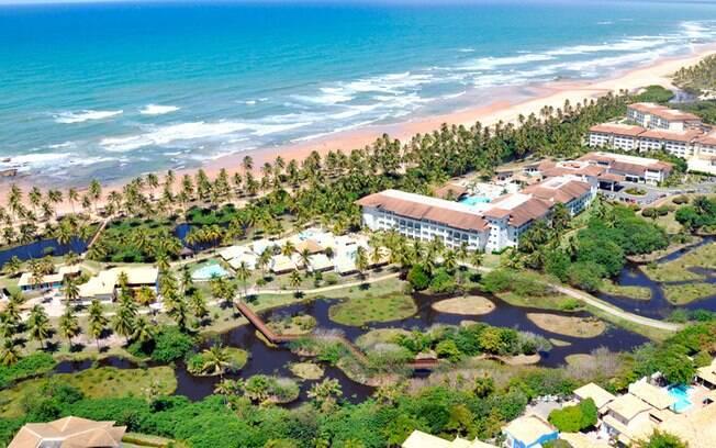 Costa do Sauípe tem boa infraestrutura e é ótima para uma viagem rápida saindo de Salvador