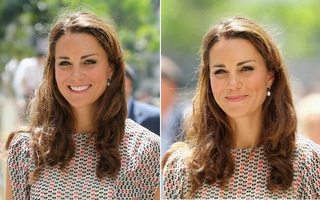 Nem a duquesa Kate Middleton está livre do frizz. A fama e a realeza não foram suficientes para combater a umidade de Cingapura, e o cabelo arrepiou...