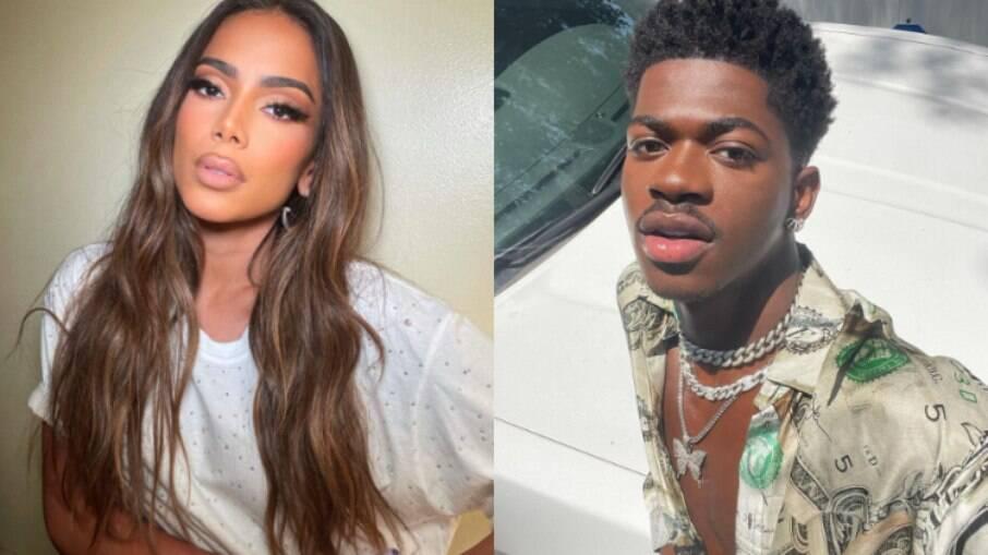 Anitta recebe elogio de Lil Nas X e vibra na web: 'Zerei o game'