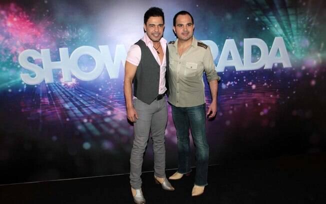 Zezé Di Camargo e Luciano no Show da Virada 2013