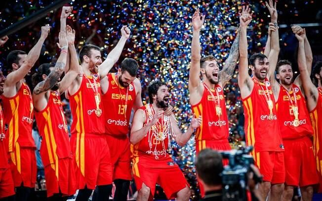 Espanha conquistou o bicampeonato mundial de basquete masculino