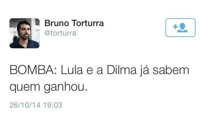 Tweet brinca com a chamada 'Lula e Dilma sabiam de tudo'. Foto: Reprodução