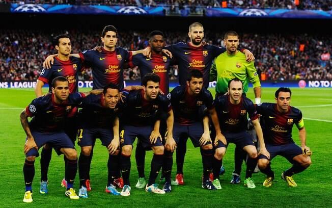 Barcelona foi eliminado da Liga dos Campeões  2012/13 para o Bayern de Munique nas semifinais