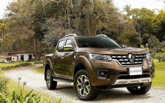 Renault Alaskan deverá ser uma das novidades do Salão do Automóvel, entre os dias 8 e 18 de novembro