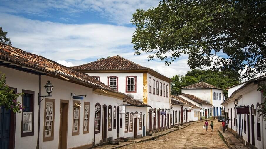 Tiradentes é uma cidade histórica no interior de Minas
