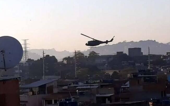 Polícia Civil realiza operação na comunidade do Jacarezinho, no Rio