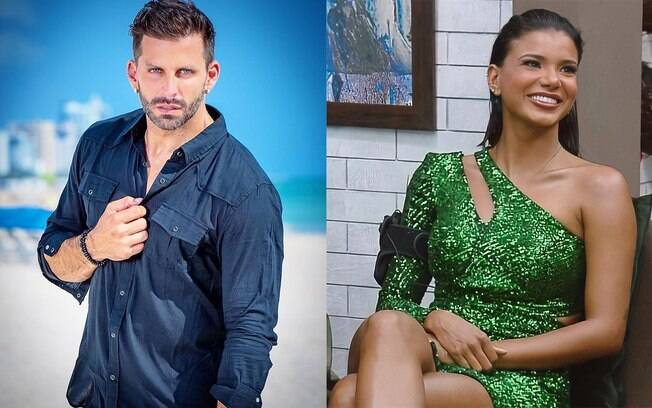 Henri Castelli fala sobre o namoro com Jakelyne Oliveira