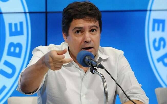 Itair Machado pediu demissão do Cruzeiro