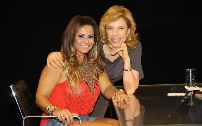 Viviane Araújo é a entrevistada de Marília Gabriela