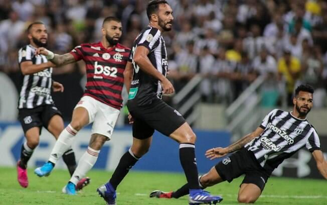 Gabigol foi um dos destaques na vitória do Flamengo