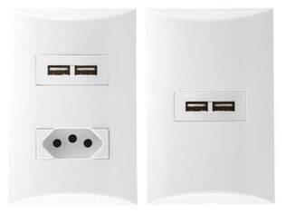 Siemens lança tomada com entrada USB para que o usuário possa dispensar o carregador
