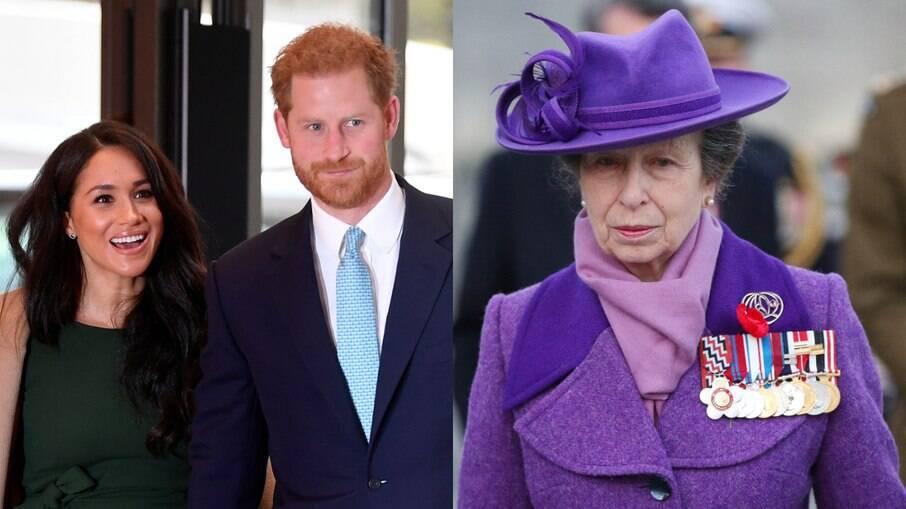 Princesa Anne avisou Harry sobre Meghan