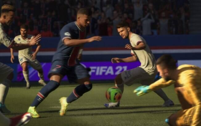 FIFA 21 está com 75% de desconto