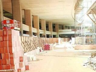 Inacabado. Aeroporto de Confins recebe avaliação negativa e obras serão suspensas durante a Copa do Mundo