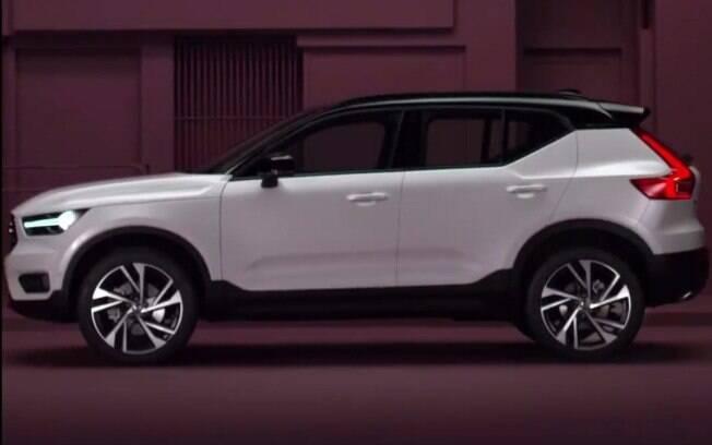 Volvo XC40: imagem oficial da versão de produção que vazou na internet antes da apresentação do carro