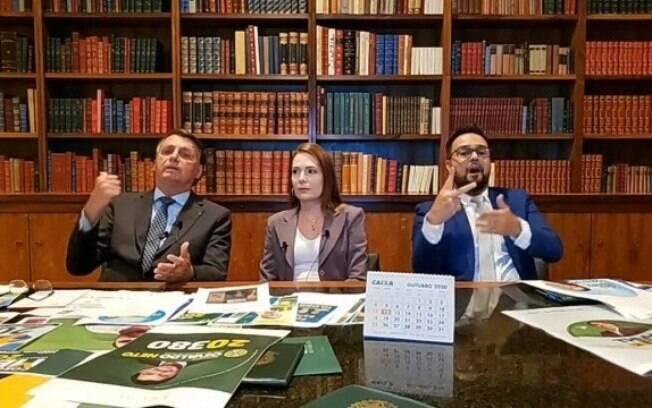 Presidente esteve ao lado da delegada Patrícia, candidata a prefeita de Recife, envolvida em polêmica na última semana