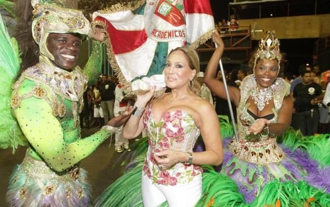 Susana Vieira sairá pela Grande Rio em 2012, mostrando que a briga foi passageira