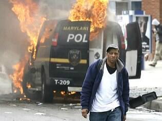 Morte de negro gera onda de violência