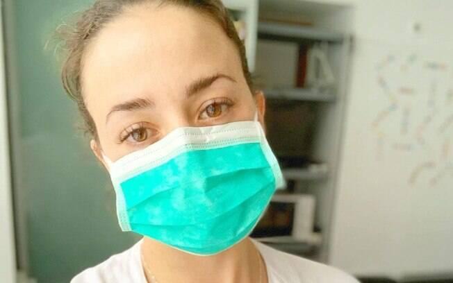 Gemma Marin voltou a exercer a profissão de enfermeira para ajudar Espanha com Covid-19