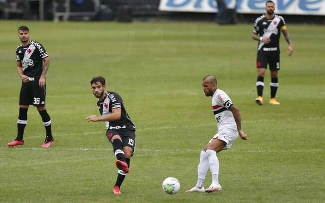 Vasco venceu o São Paulo por 2 a 1