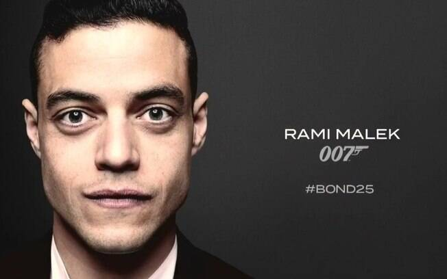A grande surpresa do elenco do novo filme do James Bond é o ator Rami Malek
