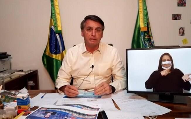 Bolsonaro voltou a criticar gestão de Mandetta, ex-ministro da Saúde