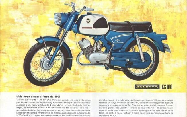 Catálogo brasileiro da Zündapp KS 100