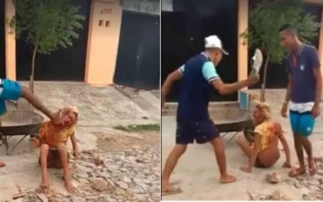 Vídeo com imagens do espancamento foi publicado na internet; Justiça decretou prisão de cinco envolvidos