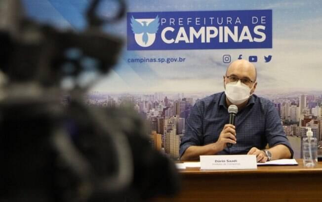 AO VIVO - Dário fala sobre restrições de pandemia em Campinas