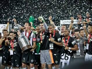 A equipe do Atlético levantou a taça da Copa Libertadores no dia 24 de julho de 2013
