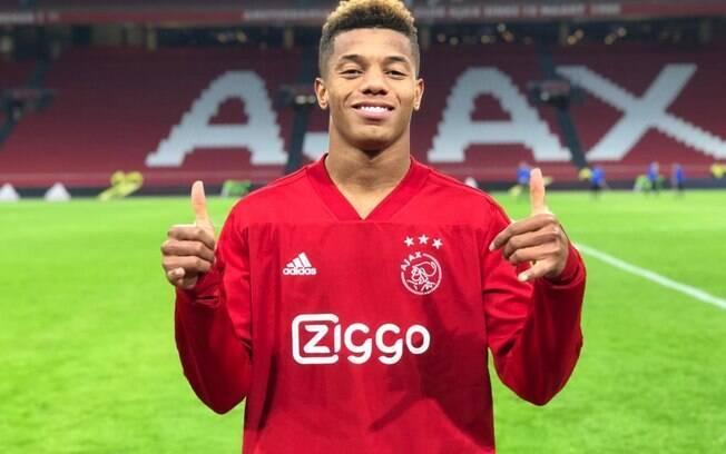 David Neres foi destaque na última semana no futebol holandês