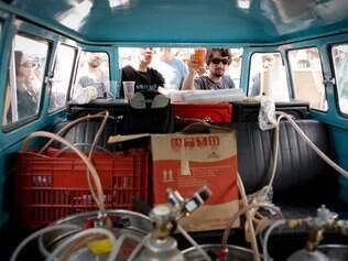 CIDADES. BELO HORIZONTE, MG.  Feira aproxima busca trazer produtores do interior para venderem seus produtos na capital mineira  FOTO: LINCON ZARBIETTI / O TEMPO / 12.07.2014