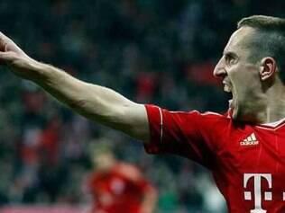 Ribéry contou que sua mulher inclusive já reservou um lugar para a Bola de Ouro em sua casa