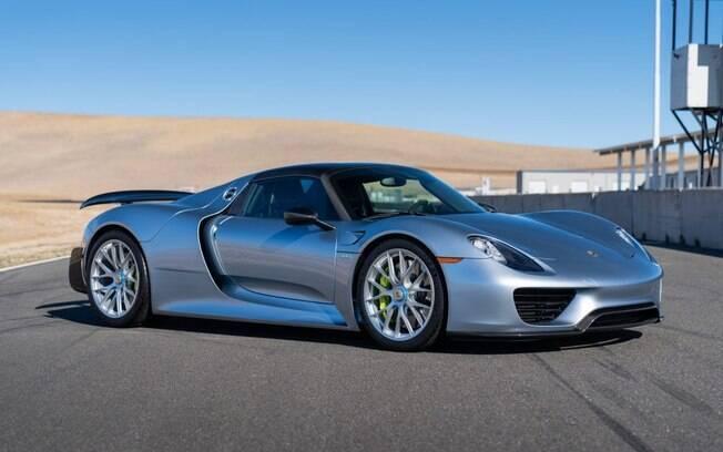 Coleção Porsche tem como um dos maiores destaues o hiper esportivo e exclusivo 918 Spyder