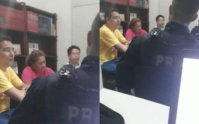 Sindicalistas denunciaram invasão de policiais federais em reunião de ato contra Bolsonaro