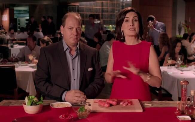Em comercial, presidente da Fogo de Chão garante que serve linguiça da Seara em seus restaurantes há muito tempo. Foto: Reprodução