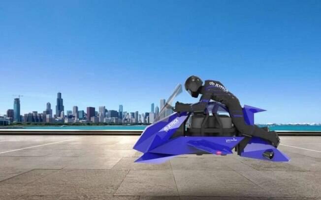 A 240km/h: Moto voadora faz primeiro voo de teste nos EUA